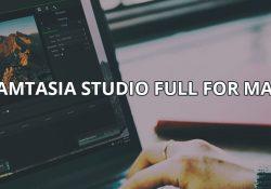 Camtasia Studio 3.1.5 – Phần mềm quay video màn hình trên Mac