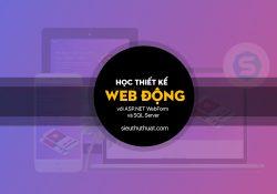Tài liệu học thiết kế Website động với ASP.NET WebForm và SQL Server miễn phí