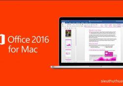 Microsoft Office 2016 v16.12 for Mac – Bộ ứng dụng văn phòng