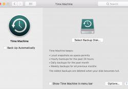 Hướng dẫn sao lưu dữ liệu trên MacOS với Time Machine