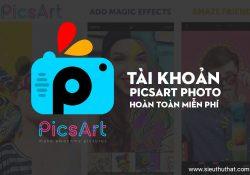 Tài khoản PicsArt Photo miễn phí (Android/iOS)