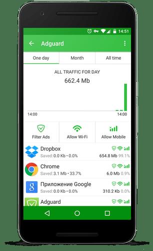 Adguard Premium chặn quảng cáo trên android