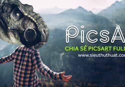 Link tải PicsArt Full Shop 9.35.1 mới nhất cho Android