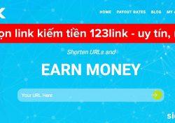 123Link.co – Rút gọn link kiếm tiền uy tín và payout rates cực cao