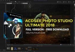 ACDSee Photo Studio Ultimate 2018 mới nhất (v11.2)