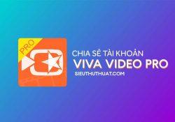 Chia sẻ tài khoản VivaVideo Pro miễn phí – Quay video đẹp trên điện thoại