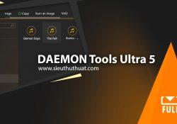 DAEMON Tools Ultra 5.3.0.717 mới nhất – Tạo ổ đĩa ảo