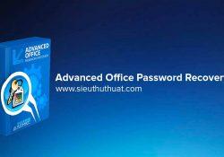 Advanced Office Password Recovery 6.32.1622 – Phá mật khẩu Office