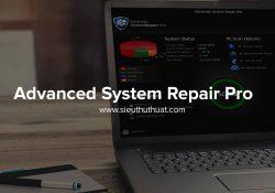Advanced System Repair Pro 1.7.0.11.18.4.29 – Làm sạch, tối ưu hóa PC