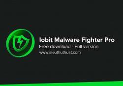 IObit Malware Fighter Pro 5.6.0.4462 bản quyền mới nhất