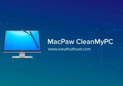 MacPaw CleanMyPC 1.9.1.1296 – Dọn dẹp, tăng tốc máy tính