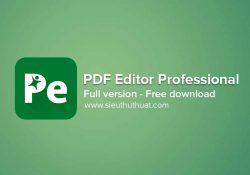 iSkysoft PDF Editor Professional 6.3.5.2806 / 6.4.4 macOS