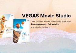 MAGIX VEGAS Movie Studio 15.0.0.106 + Platinum – Biên tập video
