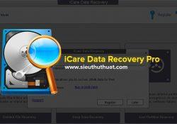 iCare Data Recovery Pro v8.1.3.0 mới nhất – Phục hồi dữ liệu mạnh mẽ
