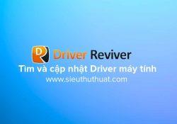ReviverSoft Driver Reviver 5.25.8.4 – Cập nhật Driver cho máy tính