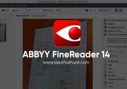 ABBYY FineReader 14.0.105.234 mới nhất – Scan ảnh sang văn bản