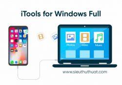 iTools for Windows 4.3.6.7 Full mới nhất – Quản lý thiết bị iOS dễ dàng