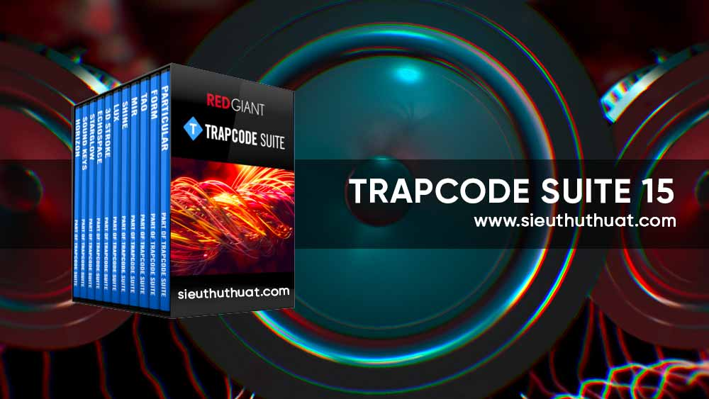 Download Red Giant Trapcode Suite 15