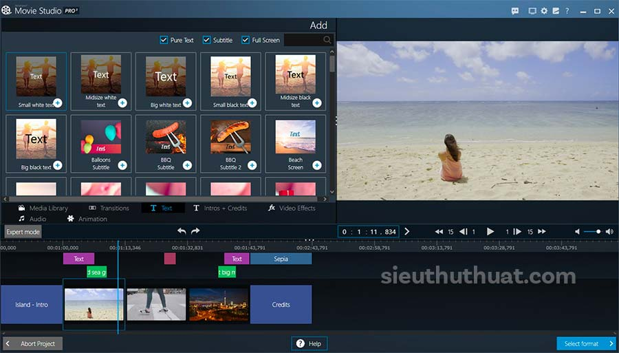 Ashampoo Movie Studio Pro Full